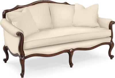 Devereux Settee with Double Welt Trim  Living Room Furniture  Thomasville Furniture