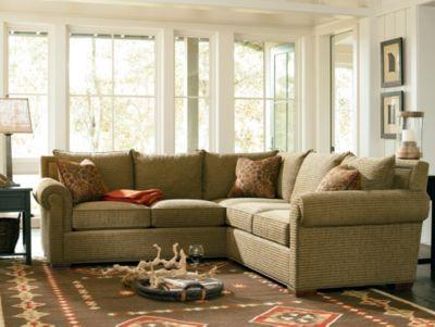 Fremont Sectional  Living Room Furniture  Thomasville Furniture