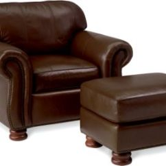 Recliner Vs Chair With Ottoman Black Dining Chairs Uk Living Room Armchairs Thomasville Furniture Benjamin Leather