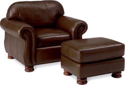 thomasville leather chair jarvis oz design living room chairs armchairs furniture benjamin