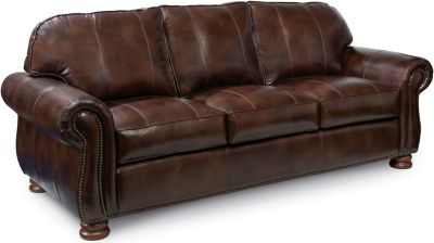 thomasville leather chair wheelchair manufacturers sofas living room furniture benjamin 3 seat sofa express