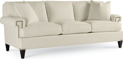 thomasville benjamin leather sofa clack with storage sofas - living room | furniture