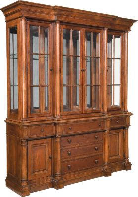 Breakfront China Cabinet | Dining Room Furniture