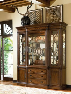 Green Hills China Cabinet  Dining Room Furniture