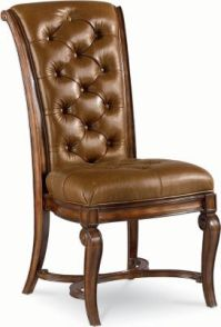 Leather Side Chair | Dining Room Furniture | Thomasville ...