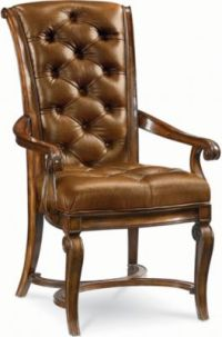 Leather Arm Chair | Dining Room Furniture | Thomasville ...