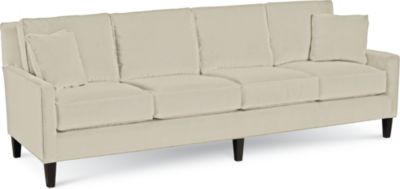 colonial wingback sofas art van clearance center sofa bed living room thomasville furniture highlife 4 seat fabric