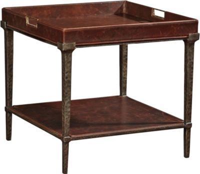 Ernest Hemingway First Edition Side Table  Thomasville