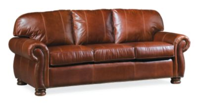 leather or fabric sofa for family room ebay corner bed sofas living thomasville furniture benjamin 3 seat