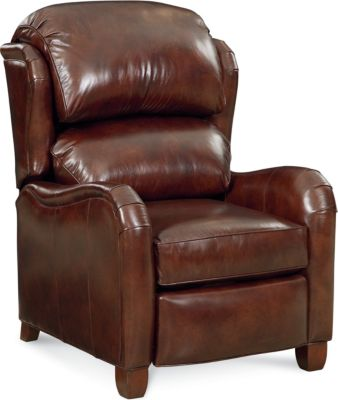 thomasville leather chair pub table with 4 chairs living room armchairs furniture donovan recliner