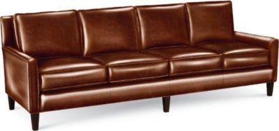 thomasville benjamin sofa china legs 4 seat leather black seater - thesofa