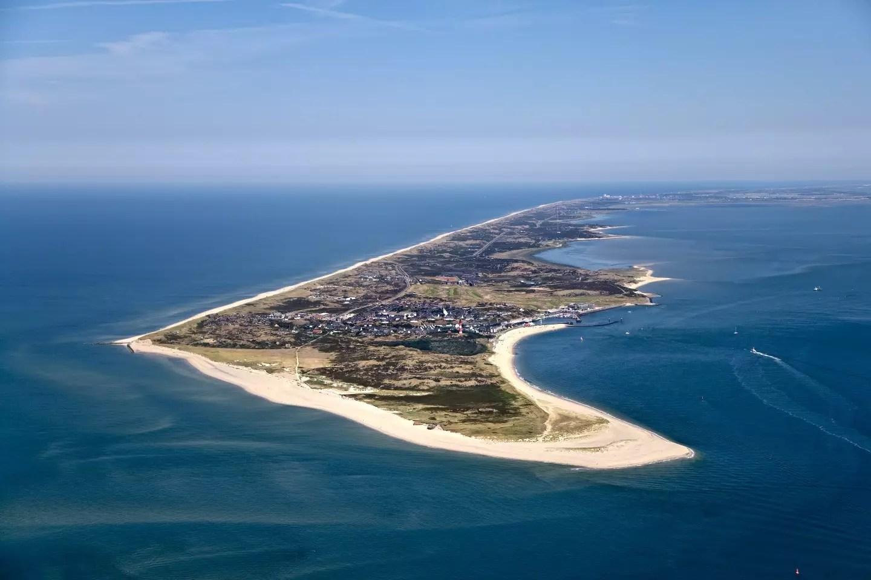 Luftaufnahme von Sylt, Nordfriesland, Schleswig-Holstein, Deutschland ©Sabine Bandow