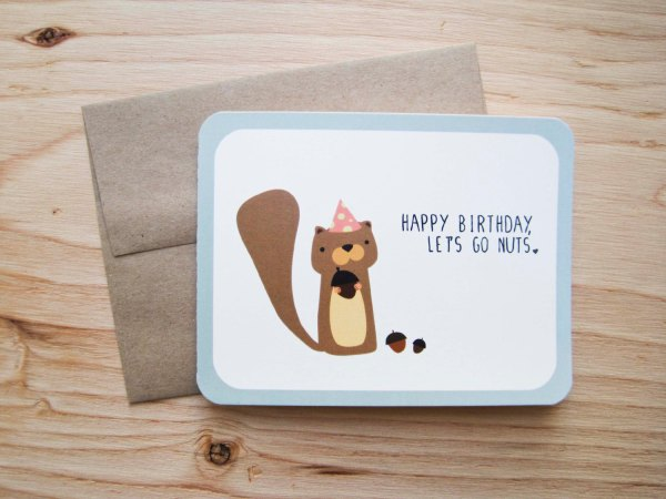 Birthday Puns Funny Happy Card