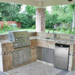 Outdoor Kitchen Covers Sink Amazon Kitchens Hhi Patio Houston