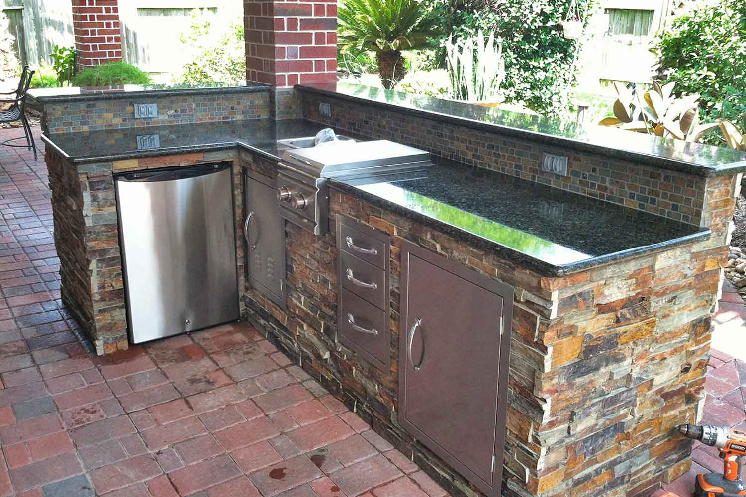 outdoor kitchen covers fluorescent lighting kitchens hhi patio houston