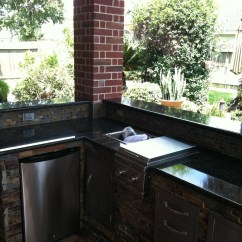 Outdoor Kitchen Covers Brass Sink Patio Cover And In Houston Hhi