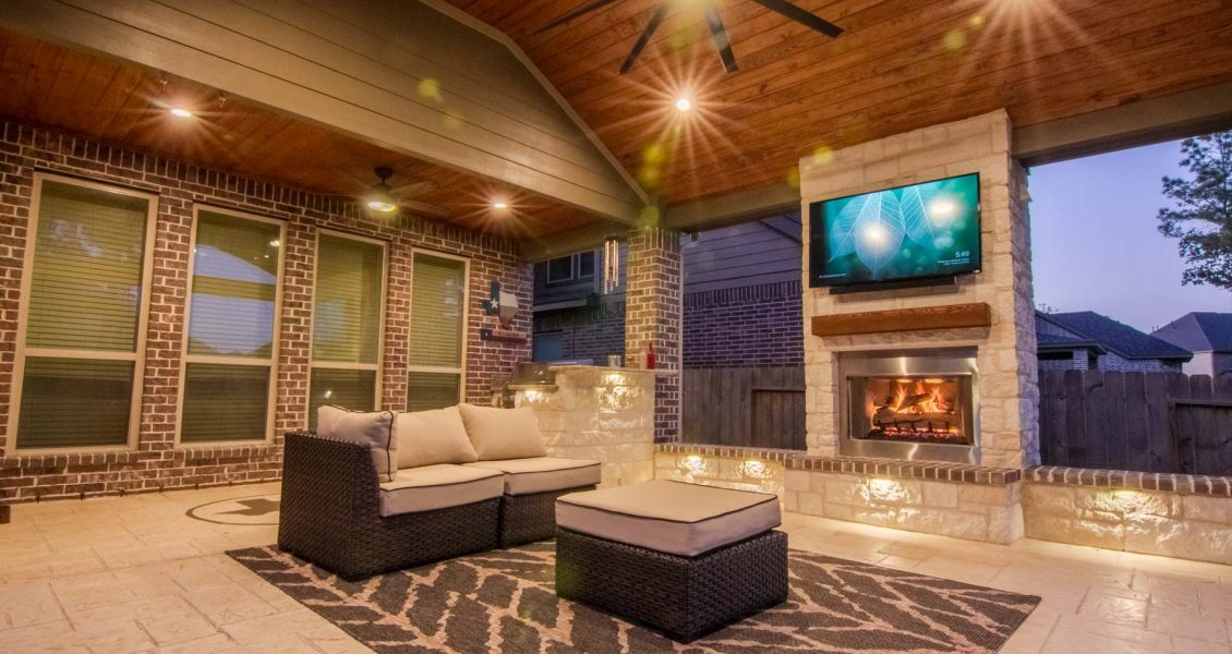 adding a fireplace or fire pit to your