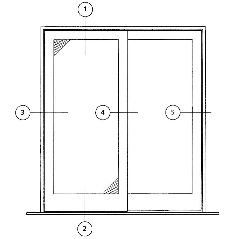 sliding door specifications h