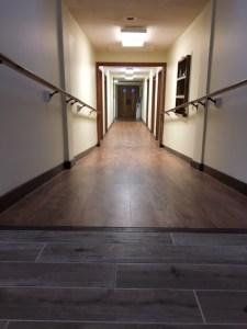 New flooring on Ramp