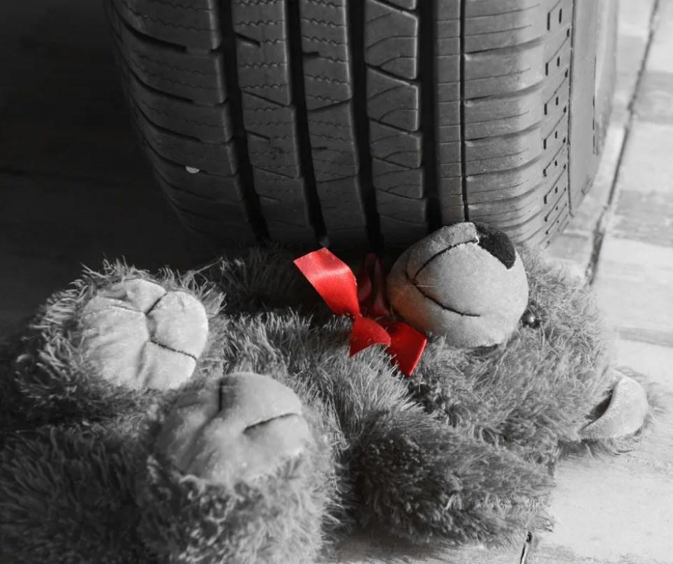 Car accident involving a child
