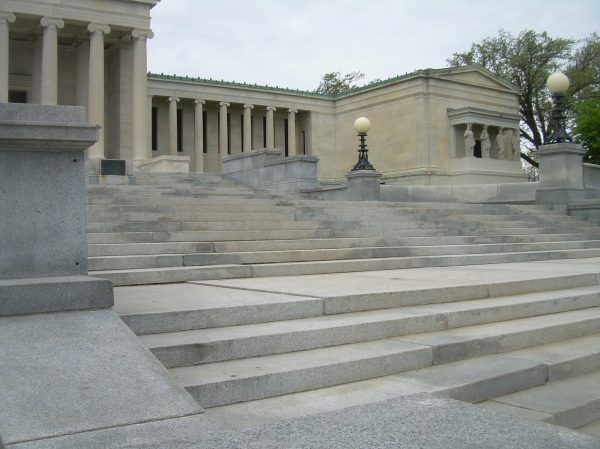Albright-knox Art East Stair Reconstruction Hhl