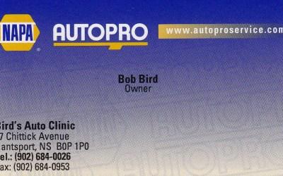 Silver Sponsor – Bob Birds Auto Clinic