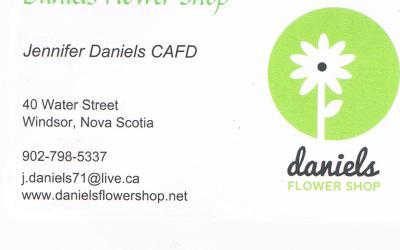 Bronze Sponsor – Daniels Flower Shop