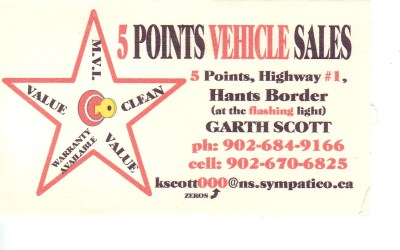 Bronze Sponsor – Five Points Auto Sales