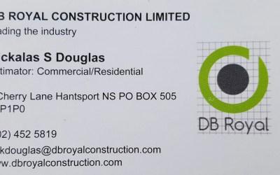 Bronze Sponsor – DB Royal Contracting