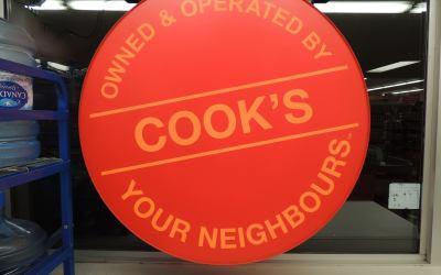 Bronze Sponsor – Cooks Independent Grocery, Hantsport