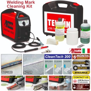 Welding Mark Cleaning Kit – CleanTech 200