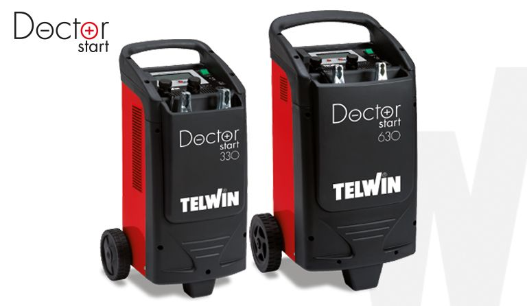 Battery Charger and Starter - Doctor Start 330 d