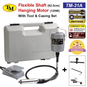 Flexible Shaft 92.5cm Hanging Motor 120W With Tool & Casing Set TM-31A