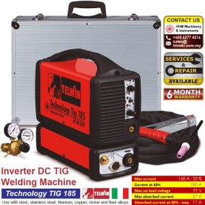 Inverter DC TIG Welding Machine – Technology TIG 185 DC HF/LIFT