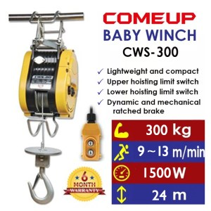 Comeup Baby Winch CWS-300
