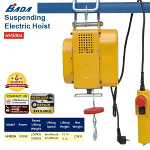 Suspending Electric Hoist HH500A