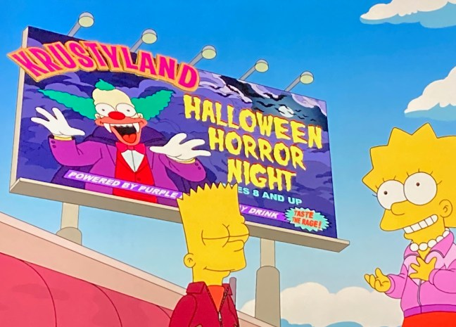 2020 Halloween The Simpson The Time The Simpsons Visited Halloween Horror Night – HHN Unofficial