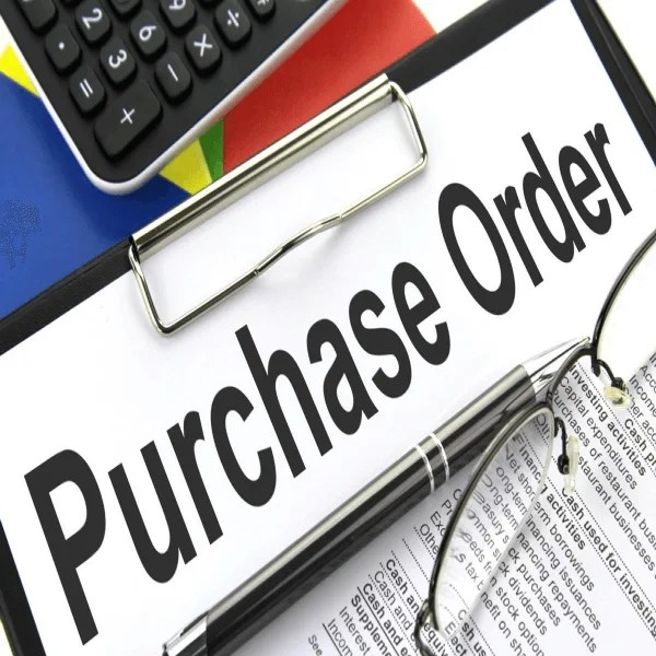 hho purchase orders