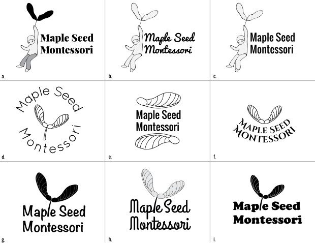 Logo Drafts Maple Seed-080715