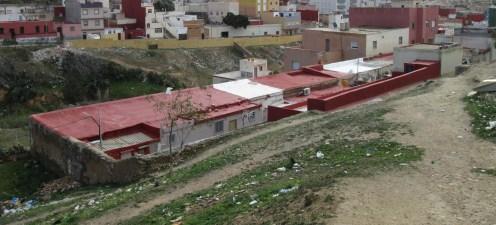 Barrio hebreo y arroyo Mª Cristina