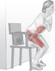 chair sit to stand exercise posture fixer power training provides special benefits for muscles and function buttocks