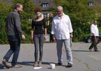 Mit Israel Kaunatjike, Zaida Horstmann, Christian Kopp