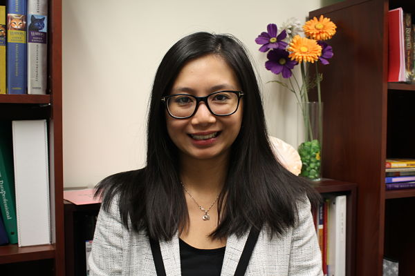 New to the neighborhood: Psychologist Lina Chung