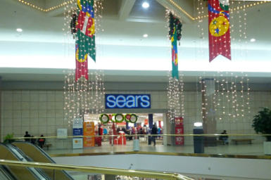Although Vallco Mall is decorated and ready for the the holidays, it continues to receive a low traffic of shoppers.
