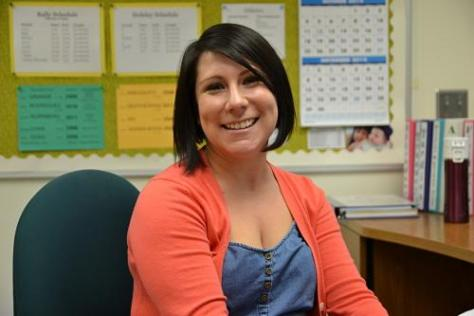 New to the neighborhood: Attendence accounting specialist Candi Marugg