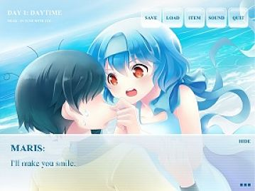 Visual novel review: Voices from the sea
