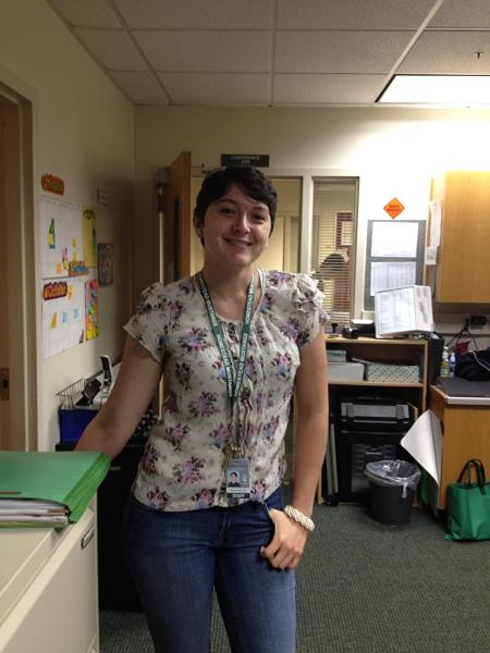 New to the neighborhood: Special Education Paraprofessional Nyssa Genanakos