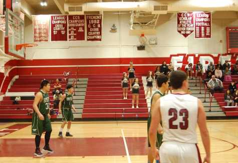 Boys varsity impresses in first rivalry game