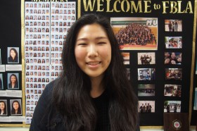"While pursuing business to become a management consultant, senior Helen Rhee said she is also seeking an internship in the process. ""The community fence in FBLA was a major part of me just assimilating to high school culture in general, but specific events like competitions or working with actual consultants also got me interested in [becoming a management consultant],"" Rhee said."