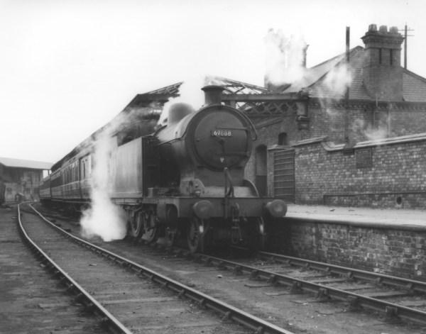 Old Steam Engine Train Station